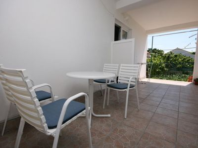 Photo for Two bedroom apartment with terrace Tribunj (Vodice)