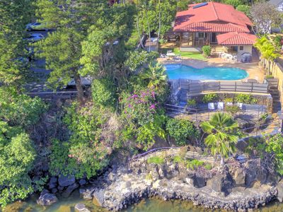 Photo for Oceanfront House - Private Pool & Spa - Ocean Access & Turtle Sanctuary TVNC1184