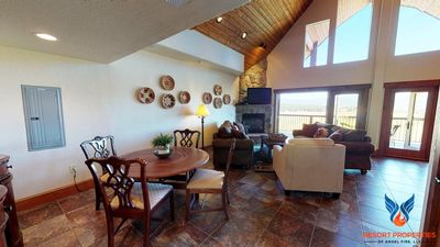 Photo for Close to Ski Mountain; Large Deck with Breathtaking Views! The Peak Condo