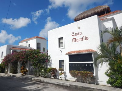 Street view of Casa Martillo