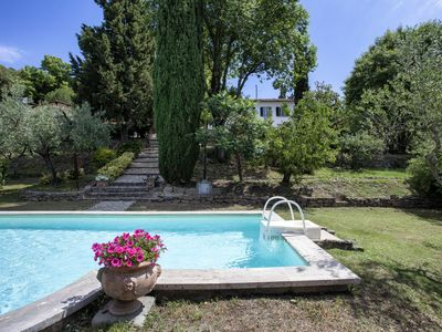 Photo for Cortona Apartment, Sleeps 2 with Pool and Air Con