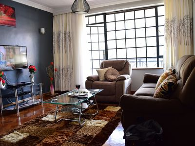 Upscale King Size Bed in the Heart of Nairobi