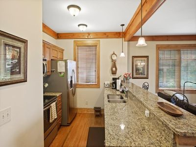 Kitchen--- Granite Counter-tops, Stainless Steel