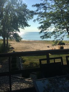 Photo for Lake Front Home, Large Beautiful Sugar Sand Beach, : Caseville