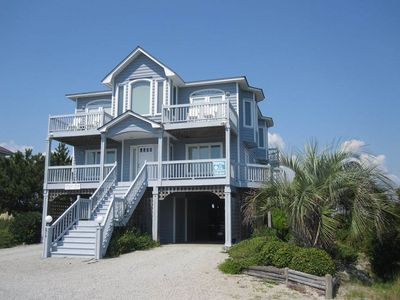 Photo for Prime Time: 4 BR / 3 BA home in Caswell Beach, Sleeps 8