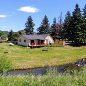 Photo for Comfy, Cozy, Creekside and Centrally located between Hill City and Keystone.
