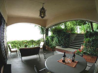 Photo for P.B MOSS   House 'Belvedere' Cortona's Sunny Apartment Stunning Views