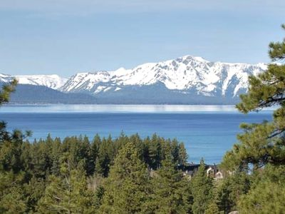 Enjoy Fabulous Unobstructed Lake and Mountain Views.