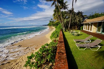 North Shore Oahu Beachfront Home On White Sand Beach Legal Licensed Short Stay Haleiwa