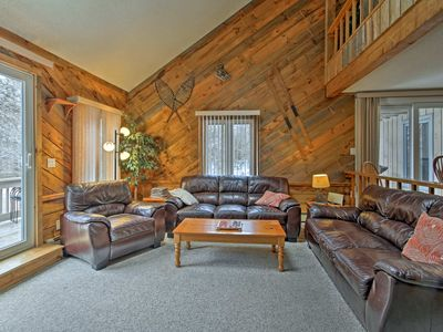 Photo for Conway Condo w/Grill & Views - 5 Mins to Cranmore!