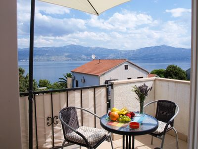 Photo for Apartment Jela  A2(4)  - Postira, Island Brac, Croatia