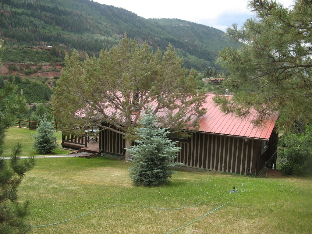 Private Mountain Log Cabin Cabin 3 Miles North Of Ouray