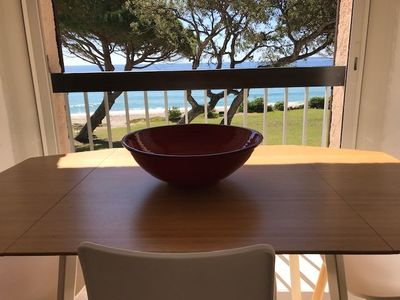 Photo for BEAUTIFUL APARTMENT FEET IN THE WATER WITH SEA VIEW