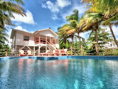 Photo for Private Chef Included, 10% off air!Private Pool,2 Kayaks,2 Golf Carts, Boat&Capt