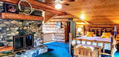 Photo for Luxury Log Cabin Near Cascade Lake, 80 Acres, Sleeps 22+, RVs Welcome, Cascade, McCall, Donnelly