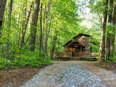 Photo for Bear Affair - Cozy, Private, Secluded, And Beautiful-WIFI Provided Free!