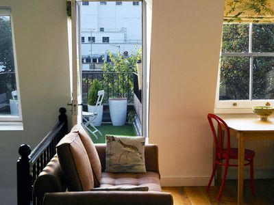 Photo for Central, stunning and quiet flat with a south facing terrace and lots of light.