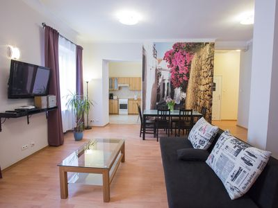 Photo for Jan III Sobieski apartment in Nowe Miasto with WiFi & air conditioning.