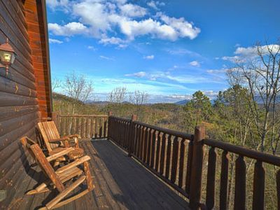 Photo for Amazing Views & 5 miles from Dollywood / Parkway (4 bedroom plus game room)
