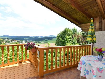 Photo for Cosy apartment in the Bavarian Forest with two private balconies