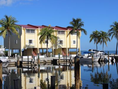 Photo for Bayfront Townhouse in FYC with Boatslip and Sunsets!