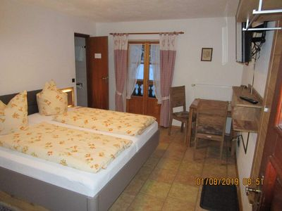 Photo for Double Room with Balcony - Gästehaus Kirner