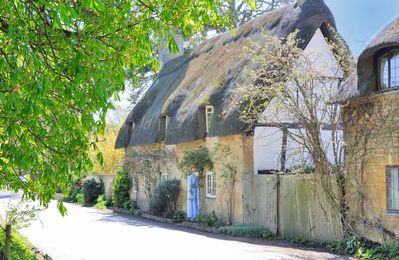 Photo for Pye Corner Cottage is a beautiful, thatched cottage, located just outside the village of Broadway