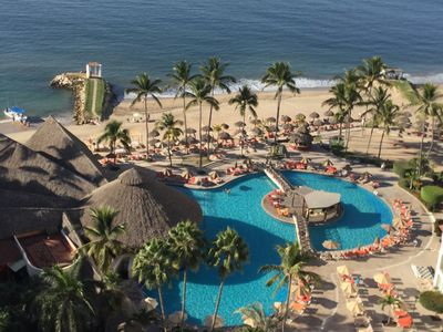 Photo for Puerto Vallarta Beachfront Condominium with awesome view