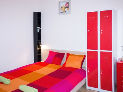 Photo for Double bed 1-2 in dormiroty room in apt. TALIA.