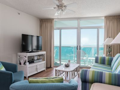 Photo for Lovely 2 bedroom condo with a gorgeous ocean view! | Laguna Keyes -  910