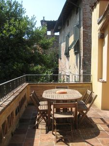 Photo for Beautifully Renovated Apartment Inside The Walls With Large South Facing Terrace