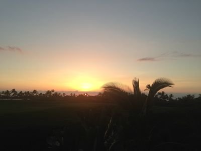 Amazing Sunsets, Different Each Night from the Wrap Around Lanai & Dining Area