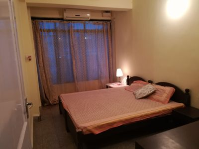 Photo for 2bhk a/c pool facing service apartment calangute.
