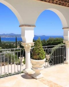 Photo for LUXURY VILLA WITH SEA VIEW LES ISSAMBRES