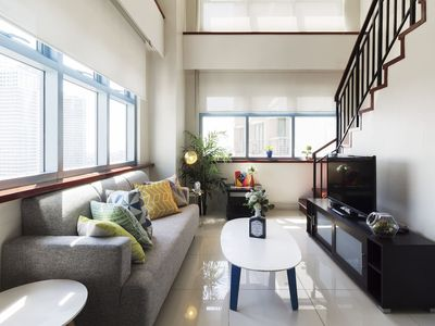 Photo for Scenic 1-BR Corner Loft Makati Greenbelt