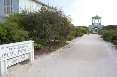 5 houses from 30A and walkway to Pensacola Pavilion