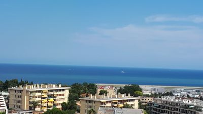 Photo for APARTMENT 77 M2 LOCATED IN PEACE ON HILL WITH SEA VIEW