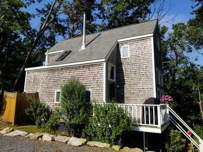 Photo for Secluded 1BD/1BA--Outdoor Shower, W/D, Walk to Dyer Pond