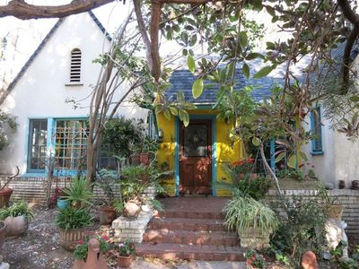 Photo for charming fully furnished house  in West Hollywood's historic Spaulding Squaree
