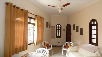 Photo for Chalet Praia Grande 100 mts from the beach quiet place with all amenities
