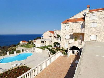Photo for Apartment in Soline (Dubrovnik), capacity 2+2