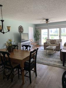 Dining and family room areas