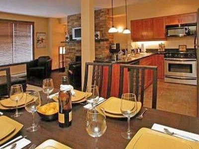 Photo for True Ski in/Out. Two Luxury Baths~Steam Shower~Ensuite. Private Hot Tub. Robes!