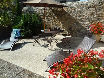 Photo for Lodging in an old wine cellar along the Canal du Midi