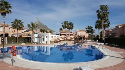 Photo for Duplex with 2 bedrooms, close to the beach, urbanization Playas del Sur, WIFI