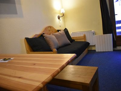 Photo for 18Beautiful apartment for 6 to 9 people max-30m² - At the ski slopes – Wifi
