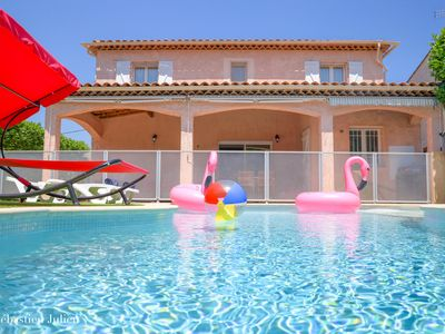 Photo for Spacious villa, 5 'BEACH, rates - 5% and -10%, Housekeeping Included