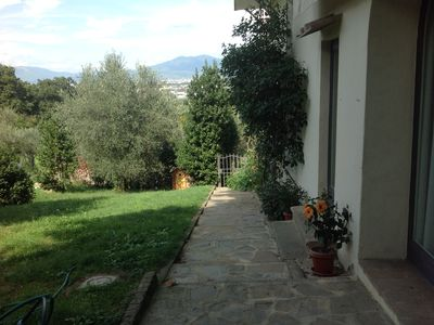 Photo for Apartment situated in the hills of Florence