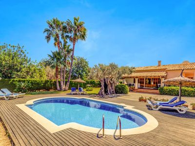 Photo for Villa Mimas: Large Private Pool, A/C, WiFi