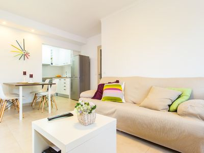 Photo for Renovated apartment 100 meters from the beach of Cala Millor